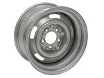 C3 Corvette 1968-1982 OEM Style Rally Wheels - Powder Coated Silver Finish
