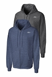 Ford Unisex Full-Zip Hooded Sweatshirt - Heather Navy