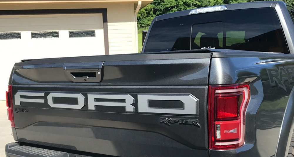 ford tailgate script decal