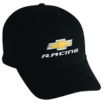 Chevrolet Racing Cap - Black w/ Gold Bowtie