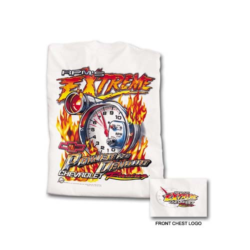 Chevrolet Racing Power To Devour T-Shirt - White