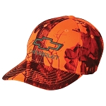 Chevrolet Bowtie Orange Blaze Buck Cap