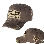 Chevrolet Camo Frayed Buck Patch Cap
