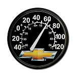 Chevrolet Bowtie Wall Thermometer - 12in