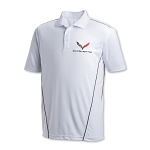 C7 Corvette 2014-2019 Sport Polo - White