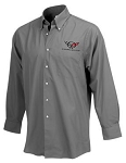 C5 Corvette 1997-2004 Mens Logo Dress Wrinkle Resistant Shirt - Color Option