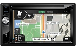 Axxera 6.2 Inch Double DIN Multimedia Receiver - Bluetooth/Navigation/DVD/CD/Tuner
