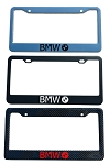 BMW Brand Script License Plate Frame - Color/Finish Selections