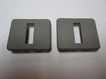 C5 Corvette 1997-2004 Seat Back Bezels - Pair