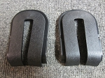 C3 Corvette 1982 Collectors Edition Rear Hatch Glass Bezels - 2 Piece