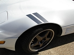 C4 Corvette 1984-1996 Grand Sport Fender Stripes - Color Options