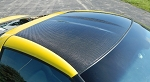 C6 Corvette 2005-2013 Carbon Fiber Targa Roof Panel Replacement - w/ Painted Accent Option