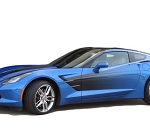 C7 Corvette Stingray 2014-2019 Side Sport Fade