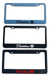 Cadillac Brand Script License Plate Frame - Color/Finish Selections