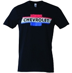 Chevrolet Vintage Red White & Blue Bowtie T-Shirt