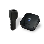 NFC-enabled Wireless Bluetooth Audio Receiver for Car Audio w/ Bluetooth Auto-Reconnect