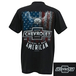 Nothing is More American T-Shirt w/ Chevrolet Script & Bowtie