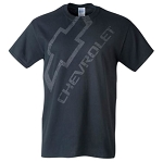 Chevrolet Distressed Chevy Bowtie & Script T-Shirt