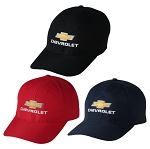 Chevrolet Gold Bowtie Coolmax Cap - 3 Color Options
