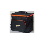 Chevrolet Gold Bowtie Beachcomber Cooler - Black w/ Orange