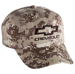 Chevrolet Open Bowtie 3-D Digital Camo Cap
