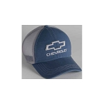 Chevrolet 3-D Open Bowtie Washed Mesh Cap