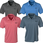Men's Chevy Bowtie Heathered Sport Shirt - Size & Color Options