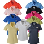 Ladies Nike Dri-Fit Micro Pique Polo w/ Embossed Gold Bowtie Emblem - Color & Size Options