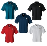 Men's Nike Classic Dri-Fit Polo w/ Embroidered Gold Bowtie