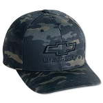 Chevrolet Flex Fit Original Multicam Cap w/ Bowtie & Script