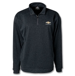 Men's Cosmic Quarter-Zip Fleece w/ Gold Bowtie & Script