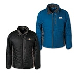 Men's Stratus Puffer Jacket w/ Gold Bowtie & Chevrolet Script - Size & Color Options