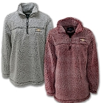 Ladies Sherpa Pullover w/ Gold Bowtie & Chevrolet Script - Size & Color Options