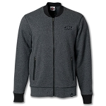 Men's Baseball Full Zip Jacket w/ Tonal Bowtie & Chevrolet Script