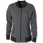 Ladies Baseball Full Zip Jacket w/ Tonal Bowtie & Chevrolet Script