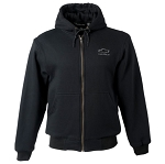 Men's Craftsman Full Zip Hooded Sweatshirt w/ Chevrolet Emblem