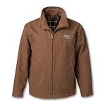 Conceal Carry Canvas Ranch Jacket w/ Gold Bowtie & Chevrolet Script