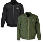 Chevrolet Gold Bowtie Unisex Bomber Jacket - Size & Color Options