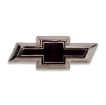 Chevrolet Black Bowtie Lapel Pin