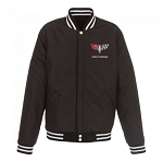 Men's Reversible Varsity Jacket w/ Camaro Logo - Color & Size Options
