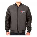 Men's Reversible Leather Jacket w/ Camaro Logos - Size & Color Options