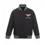 Women's Charcoal / Black Varsity Jacket w/ Camaro Logo - Size Options