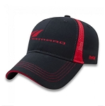 Women's Reebok Cap w/ Camaro Logos - Black / Red