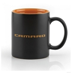 Matte Black / Glazed Spice Orange Mug w/ Camaro Script