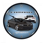 Gen 6 Camaro SS 2016+ 14 inch LED Backlit Clock - Color Options