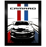 Camaro Stylized Framed Art