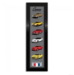 Camaro Generations by Chevrolet Vertical Framed Art