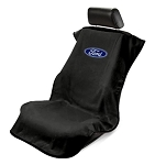 Seat Armour Front Seat Cover Towel w/ Ford Logo - Color Options