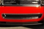2008-2010 Dodge Challenger Brushed Stainless Lower Grille Overlay