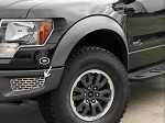 2010-2014 Ford Raptor Brushed Stainless Steel 2pc Lower Front Outer Grille - Brushed Finish